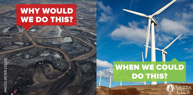 Seeing the impacts of #TarSands first hand with @SierraClub was a wake up call. #CleanEnergy now! http://t.co/OvTYsBwXxU
