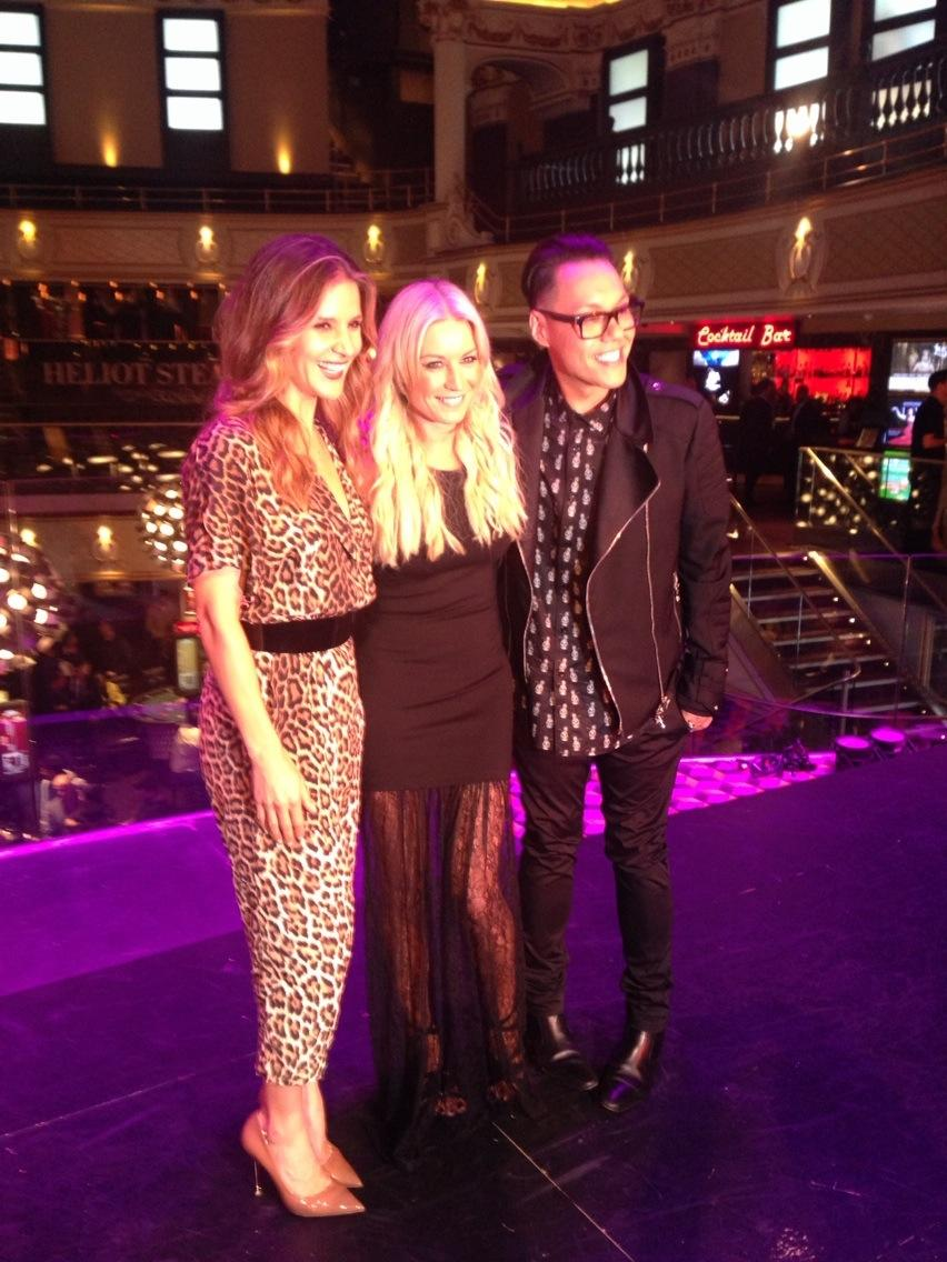 RT @amandabyram1: The girl of the hour!! @denise_vanouten so proud of ya. @therealgokwan now singing all your tunes 😳 http://t.co/Gl0uIs3VXY