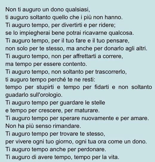 """Veronica Ciardi on Twitter: """"Ti auguro tempo. ❤️ http://t.co ..."""