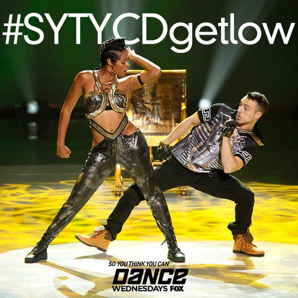 """Retweet if you want to see @IaMEmiliodosal & @Dance10JasmineH perform """"Get Low"""" on next week's finale! #SYTYCDgetlow http://t.co/PXZCxTdUvW"""