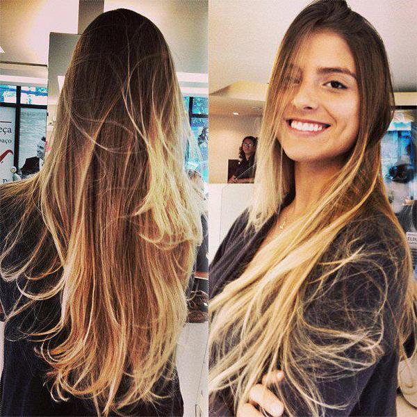 Becky G Ombre Hair