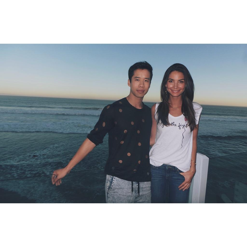 RT @JaredEng: Loved supporting @stjude charity tees Malibu event w one of my fave people in the world @LilyAldridge #VelvetxStJude http://t…