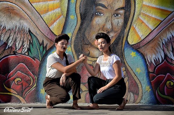"""¡Chicana y Que!"" #MiVidaChicanoSoul2015 #MyDayInLA http://t.co/x449H4copA"