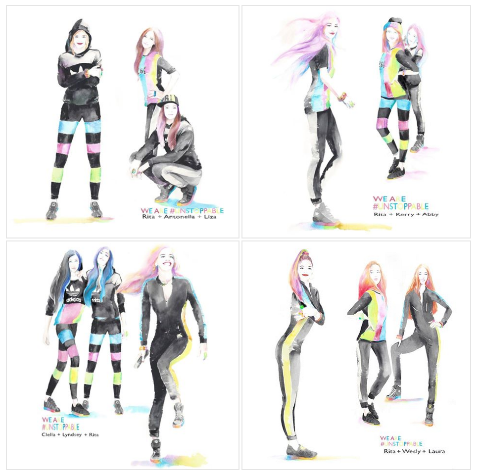 #ColourblockGirls! More bots in my lookbook http://t.co/ROEoFXgYe0 @adidasoriginals #Unstoppable #OneWeekToGooo! http://t.co/0I0tx7L2sP
