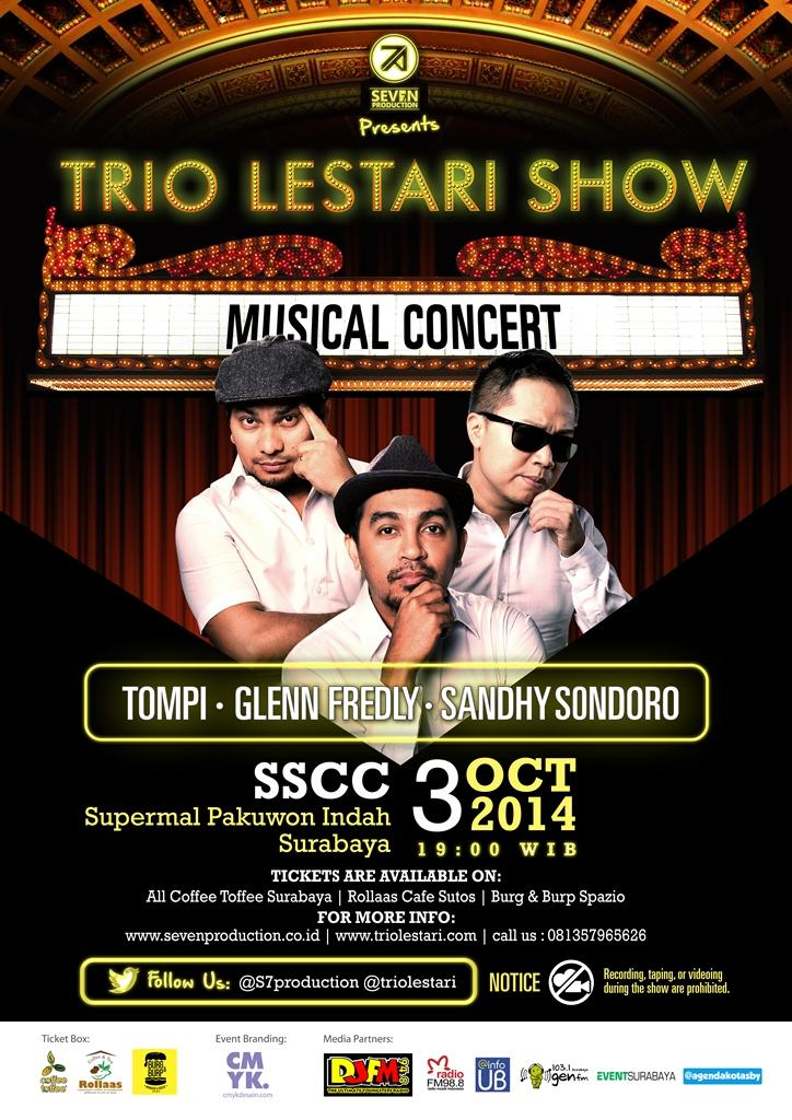 Trio Lestari Show Musical Concert Surabaya