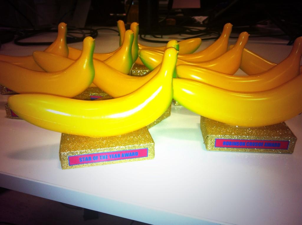 #aisawayday kicks off tomorrow! Just putting the final touches to the Golden Banana awards http://t.co/CupjPqvQ8z
