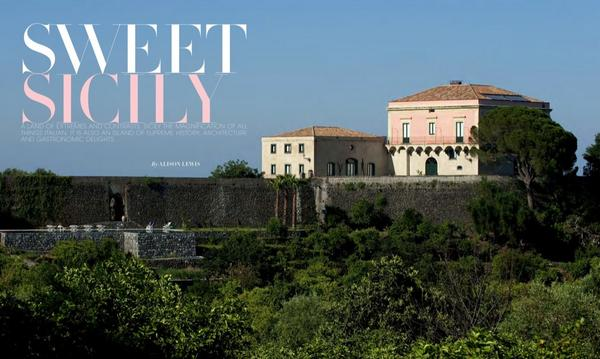 Sweet #Sicily can be booked here http://t.co/JkNrzOFsgW #authenticsicily #luxury #2015 as featured in @healthytravmag
