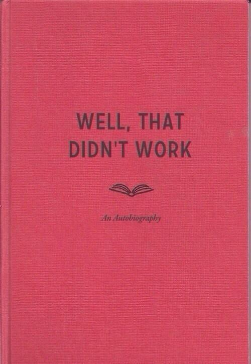 my future autobiography