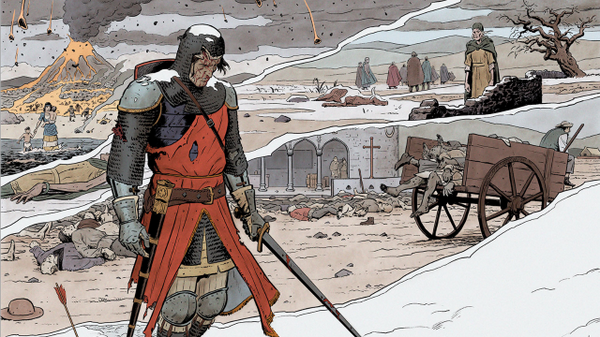 First Look: THE VALIANT #1 de @JeffLemire, @MattKindt, @PaoloMRivera, & @ValiantComics  http://t.co/AiPvFaHgQj