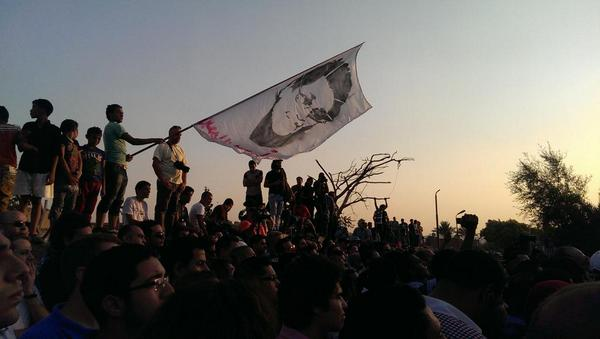 From Ahmed Seif's funeral. His spirit will live on, shine down on us and inspire generations to come http://t.co/Y7ac8H7xFs