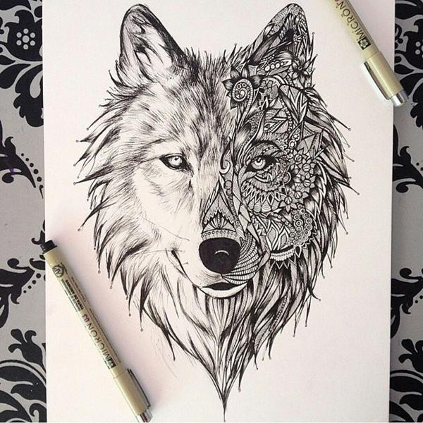 "Amazing Wolf: Amazing Drawings On Twitter: ""Amazing Wolf #drawing ' Http"