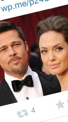 9 years and 6 kids later?? Well they say timing is everything ...alright Mr & Mrs Pitt! Congrats! http://t.co/83SguykGtV