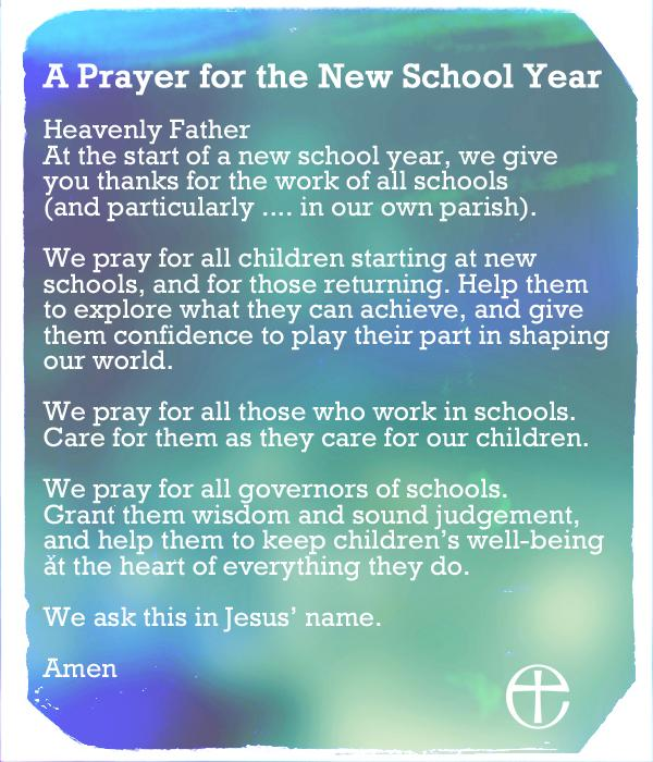 Prayer for new year at work