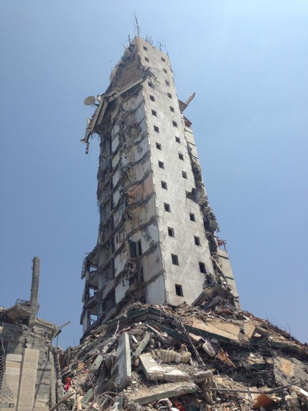 Un equipo de @elprogramadear entra en Gaza. El lunes arrancamos mostrando la destrucción de la franja http://t.co/b1majrdAGz