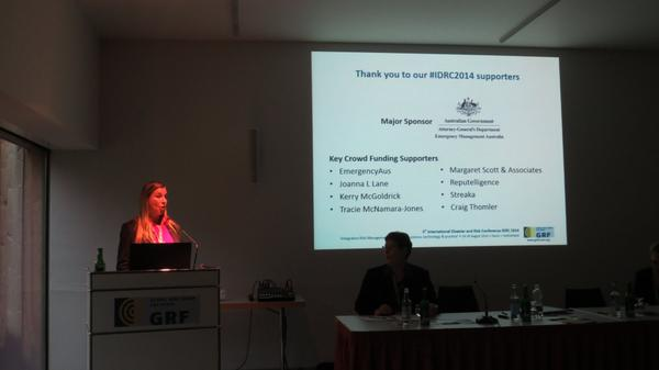 Thank you shoutout to our sponsor @AEMKH for making our presentation to #IDRC2014 possible :) #smem #em2au http://t.co/uAD2Hqg0Av