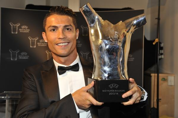 Cristiano Ronaldo Named UEFA Best Player In Europe
