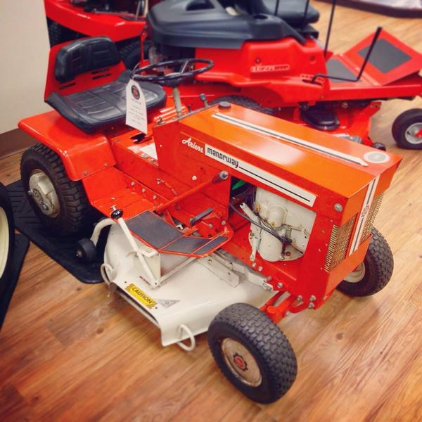 Ariens Company on Twitter Ariens Manorway garden tractor circa