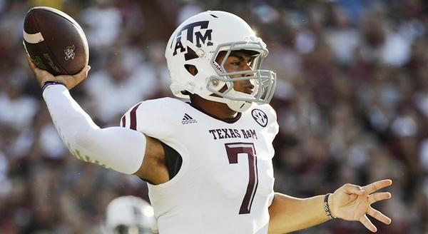 Kenny Hill breaks Johnny Manziel's Texas A&M single-game passing record in starting debut: http://t.co/PdAz8dIqpN http://t.co/xgPybHCZTM