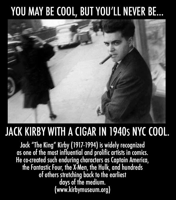 Today would've been Jack Kirby's 97th birthday. Hail to The King. http://t.co/ISVJ8SO3QA