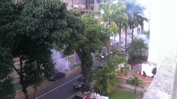 Fotos: GNB ataca a manifestantes de Santa Fe Sur #28A