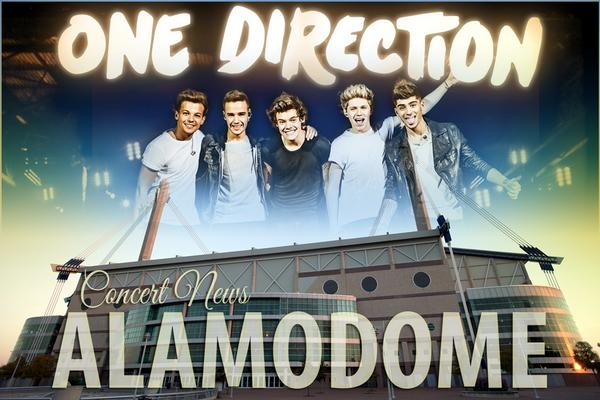 @onedirection and @5SOS @Alamodome Sept. 21. Doors will open at 5PM for 7PM show. Info at http://t.co/rO0jFEZijk http://t.co/ut5NWVpHPX