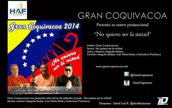 Primicia nacional de @GranCoquivacoa puedes descarga aquí  https://t.co/mYDJSieslL @NeguitoBorjas @Hirvinflores http://t.co/DfMSqYcOfs