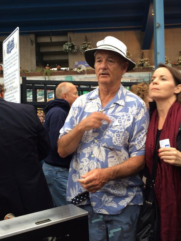 Remember that one time Bill Murray was at our last game at Midway.  You better believe we know how to throw a party. http://t.co/giwNBQOEXd