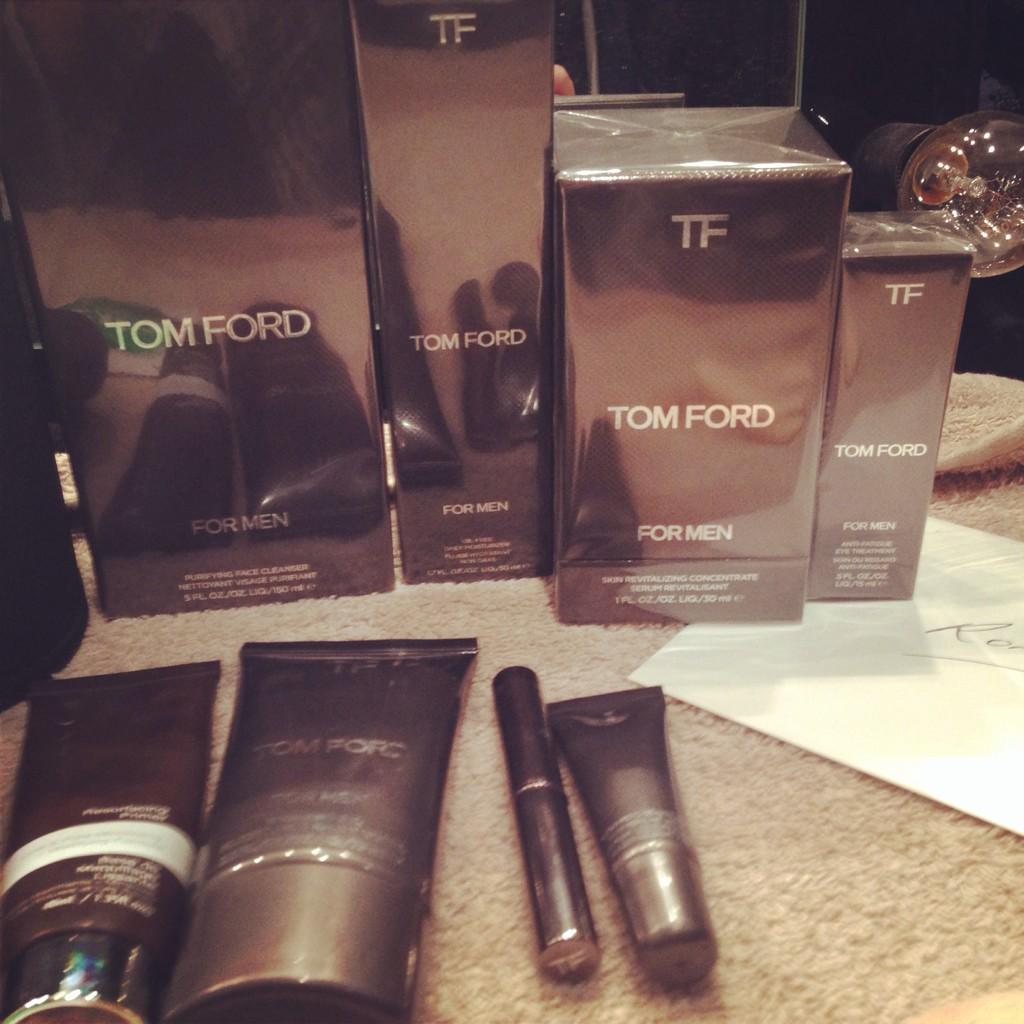 RT @Makeup_London: Thanks again @TomFordIntl @EsteeLauder for the #grooming products! @ronanofficial loves the range! #teamronan xx http://…