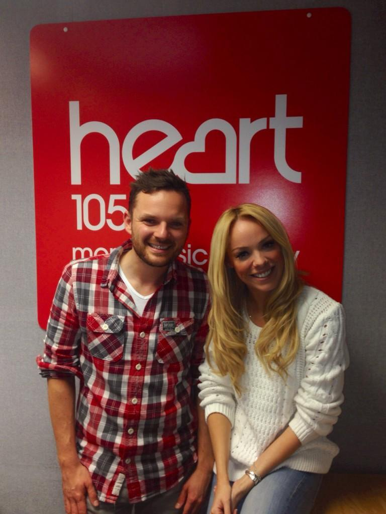 RT @HeartNorthWest: HAPPY FRIDAY! It's me and @LizMcClarnon on #HeartBreakfast until 10! Russ x http://t.co/e9ihTulbJh