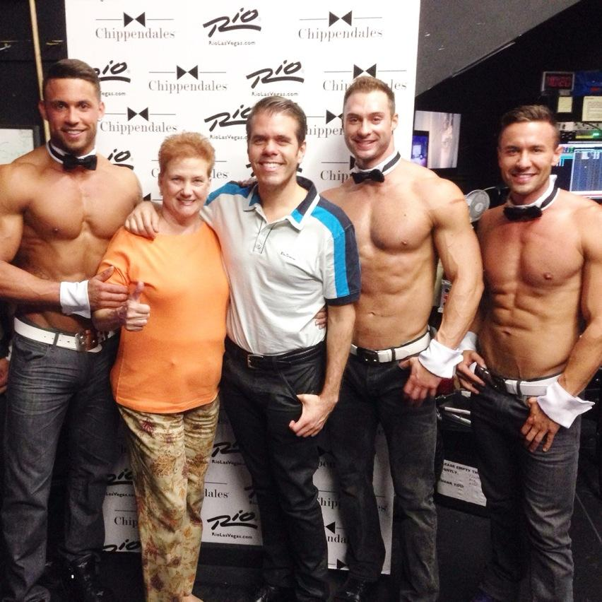Thumbs up!!!! @Chippendales #Chippendales #Rio #LasVega #Vegas http://t.co/qUAyFeAnYZ