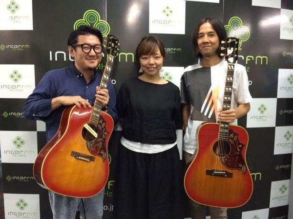 昨夜のinter FM 高野寛さんの特番、8/29(金)27:00からリピート放送! http://t.co/Wsw9S8xl5o