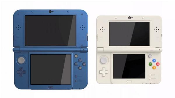ニンデントー3DS新型公開、「NEW NINTENDO 3DS」 http://t.co/LzFaBhqaMr