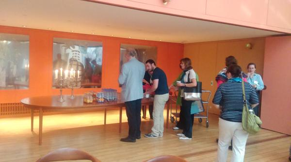 Sad to be at the last coffee break of #CIPEG2014 after great days of informative museum discussion http://t.co/2DoTHdbyDf
