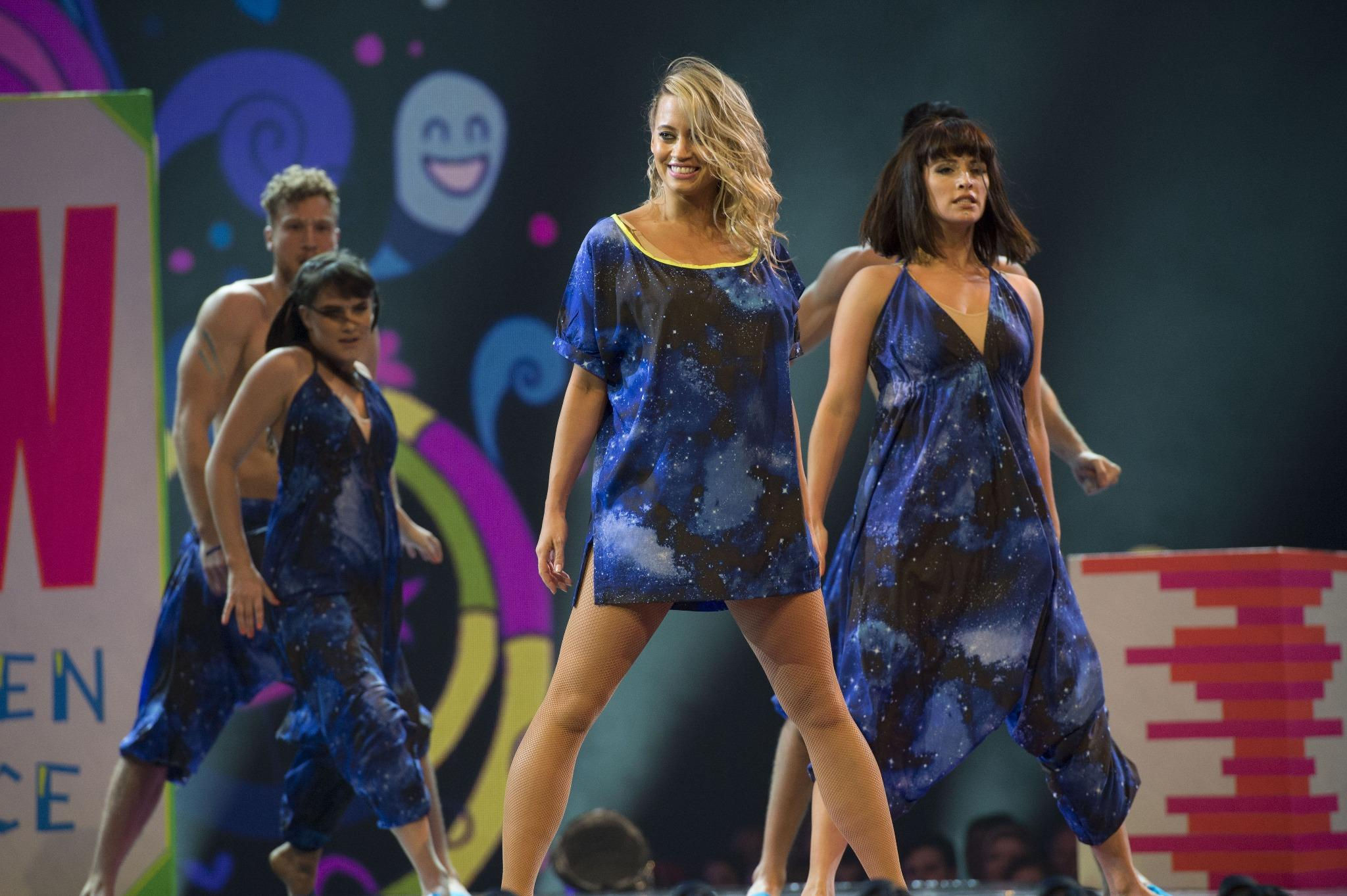 Love these @dancingleopard1 jumpsuits we wore in my #GotToDance performance http://t.co/S7vMP6aqHk!!! http://t.co/U19PSVQPXe