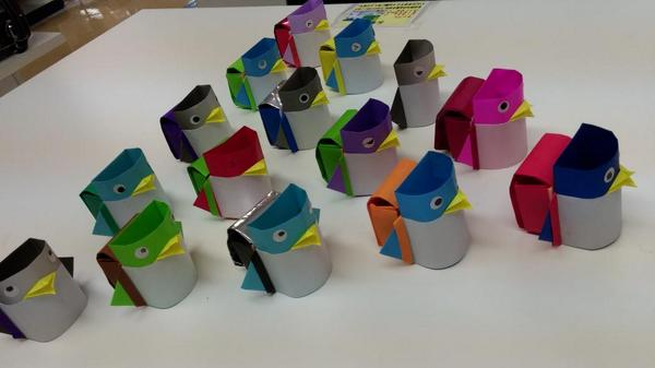 クリスマス 折り紙:ペンギン 折り紙-twitter.com