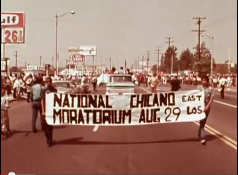 Today is the 44th anniversary of the #ChicanoMoratorium & the death of Ruben Salazar. Footage: http://t.co/d34RTAEYkC http://t.co/fpanI4eKbI