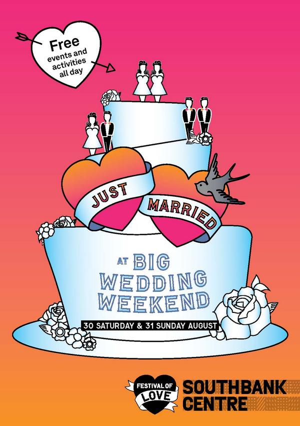 Good morning! It's the first day of our #BigWeddingWeekend. Celebrate with us: http://t.co/ntN7pOG069 http://t.co/um9cfg2HdG