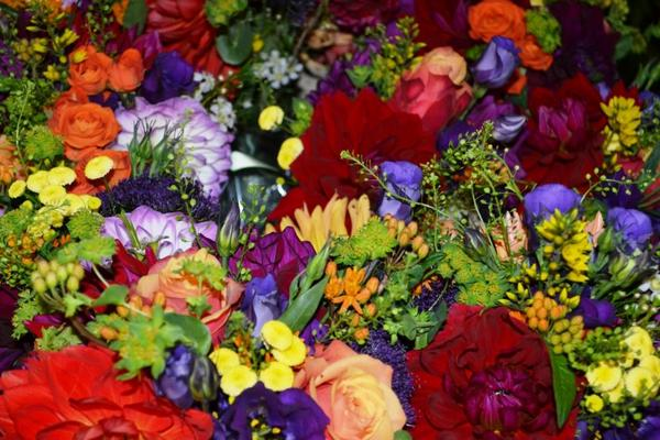 Just some of the beautiful bouquets  @Petalon_Flowers are preparing for our #BigWeddingWeekend! http://t.co/REWFueDFDf