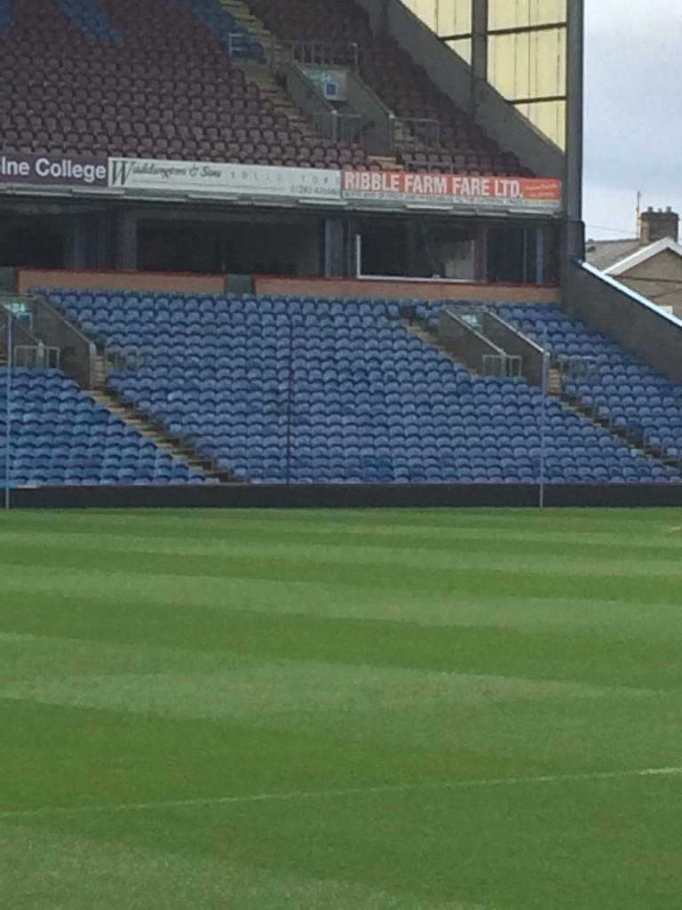 A standard corporate box?? Think again! It's the home of @FletchAndSav - live from Turf Moor from 10am tomorrow... http://t.co/DgnPWNKWrV
