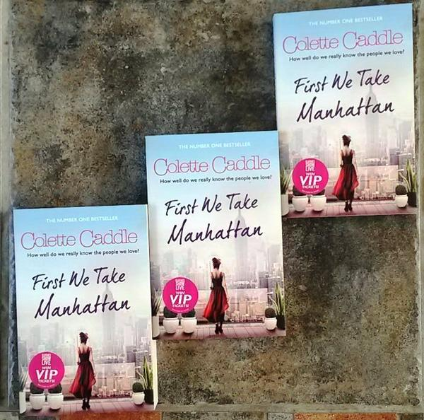 FRIDAY FREEBIES!!! To be in with a chance to win a signed copy of #FirstWeTakeManhattan, simply Retweet. Good luck! http://t.co/zQtk2YjSDu
