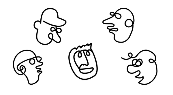 Picasso Line Drawing Face : Noun project on twitter quot channel your inner picasso draw