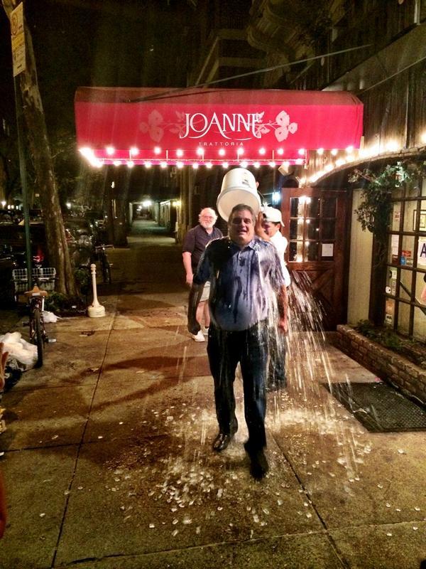@germanottajoe does the #IceBucketChallenge !! Happy birthday @momgerm !! @ladygaga http://t.co/74Pnvl1vSH