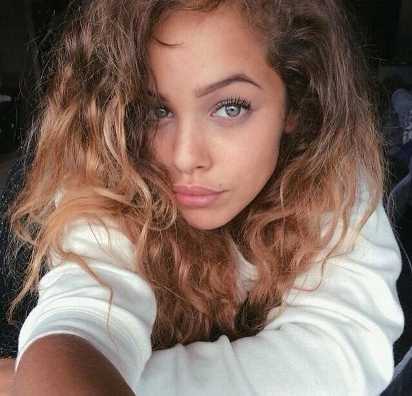 Pretty Mixed Girl