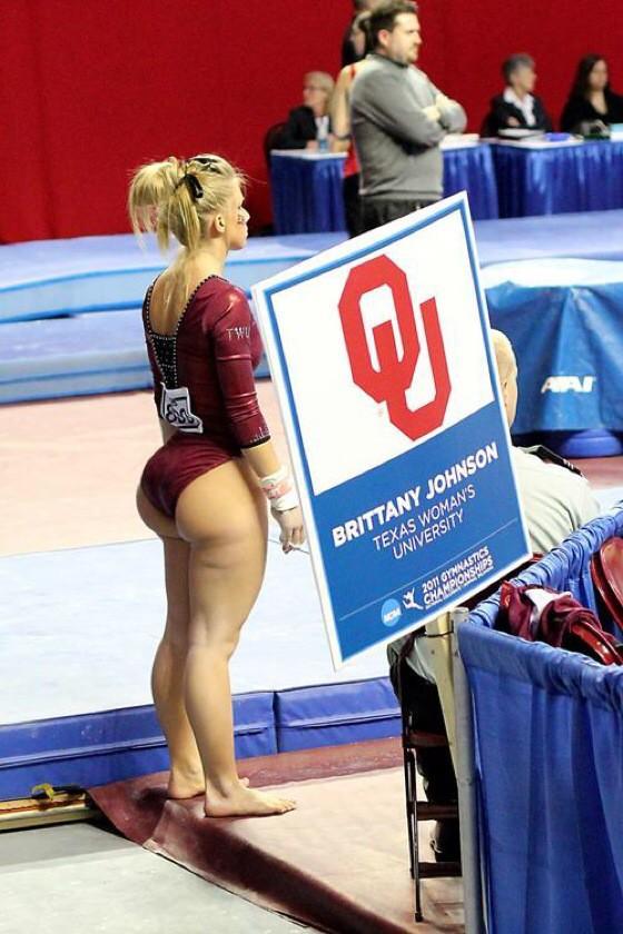 Gymnast With Big Booty