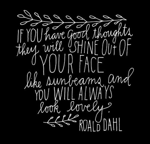 Good Thoughts = Looking Lovely    Give it a try tweeties!! I dare you. 😘 http://t.co/4WyW2kobuX