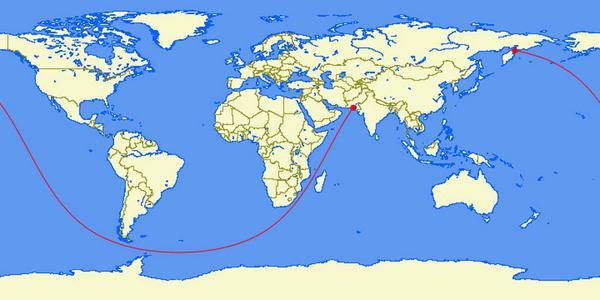Kamchatka Peninsula On World Map.Brilliant Maps On Twitter Pakistan To Kamchatka Peninsula Russia