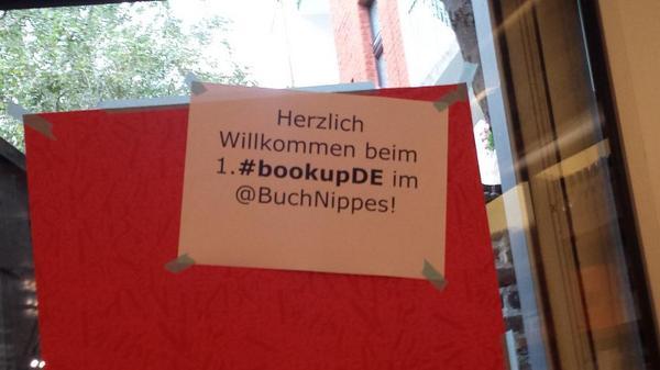 Wir bereiten uns vor!#bookupDE http://t.co/Ns6N0kjQH2