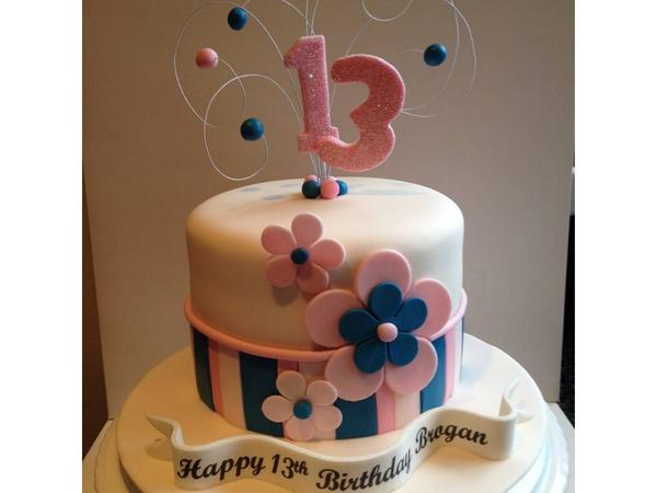 CarlasCakeEmporium on Twitter A simple yet sweet 13th Birthday