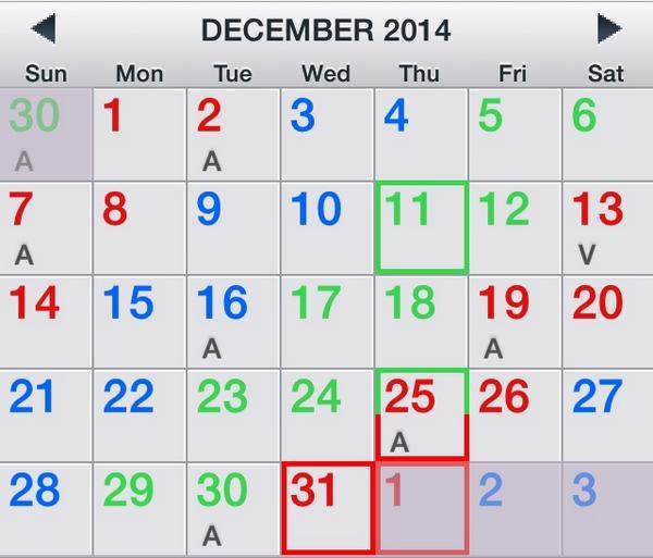 2016 24 48 Shift Calendar | Calendar Template 2016