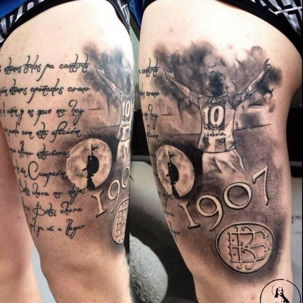 """Tatuajes Del Escudo Del Betis tatuajes del #betis on twitter: """"un ídolo, una fecha, un escudo, un"""